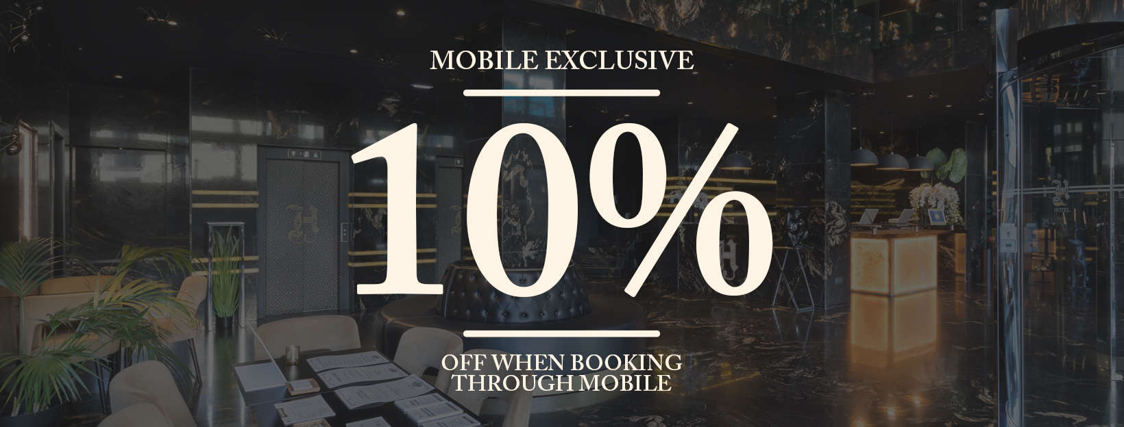 Exclusive Mobile Offer