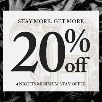 4 Nights Minimum Stay Offer